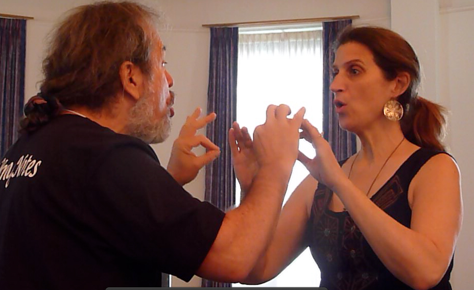 Ron and Elaine Improvising